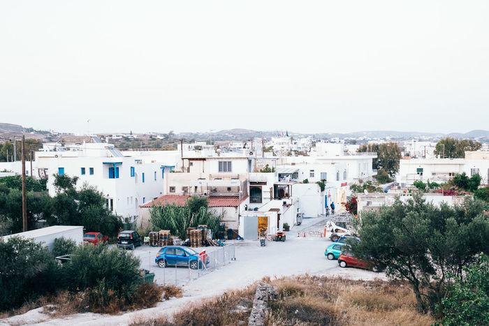 Adamas Architecture Cyclades Islands Greece Lanscape Milos Milos Island Residential District Town TOWNSCAPE