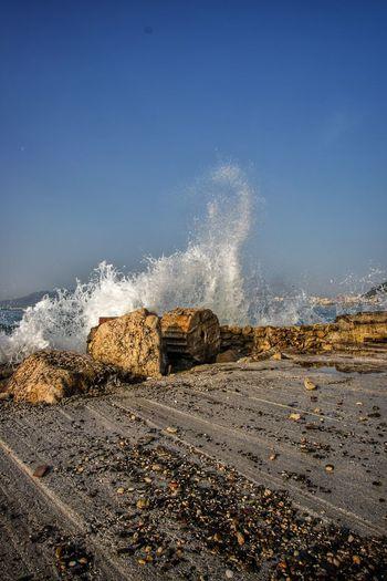 Sea Wave Nature