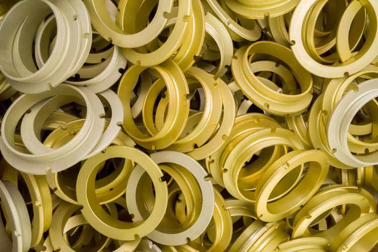 Full frame shot of spiral box