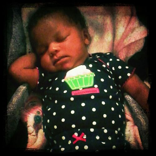 My Baby Knocked Out Lol