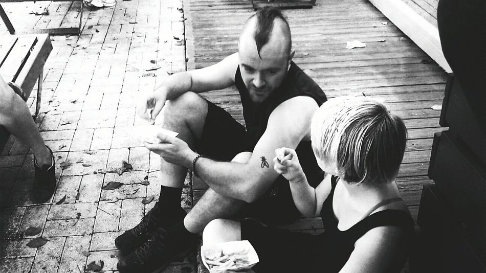 Chris & Emily. Faces Of EyeEm People Los Buenos Muchachos Friends Plan It X Black & White Punk Rock Punks Black And White Puerto Rico