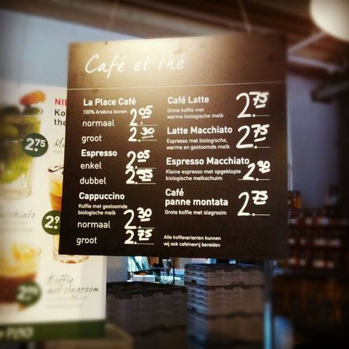 Cafe Amsterdam Coffee Laplace