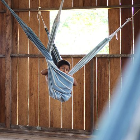 Colombia Amazon Latinoamerica Leticia Southamerica Jungle Junglefever Lifestyle Happy Travel Travelgram Globetrotter Hanging Out Hanging Hammock Kids Kids Playing Hanging Day Outdoors No People