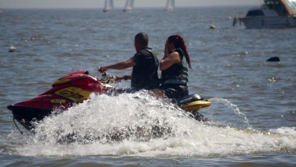 The Great Outdoors With Adobe Water Jetskiing Waterfront Splash