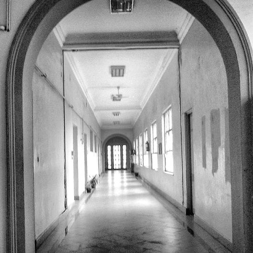 Architecture Cairo Cairo University Day Indoors  Light And Shadow Lighttrails No People The Way Forward