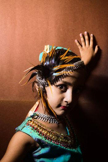Kids fasion on traditional dress