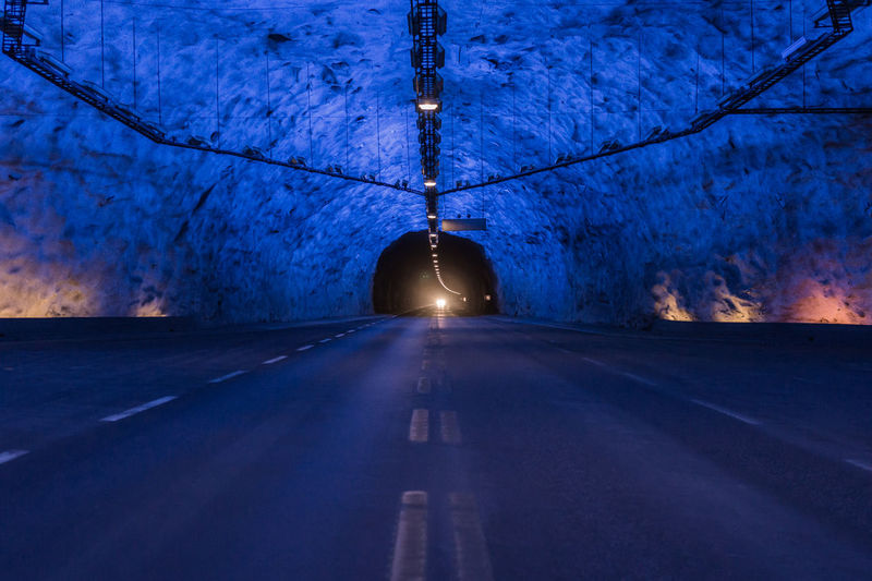 The World's Longest Load Tunnel Laerdal Tunnel Driving Trip Norway
