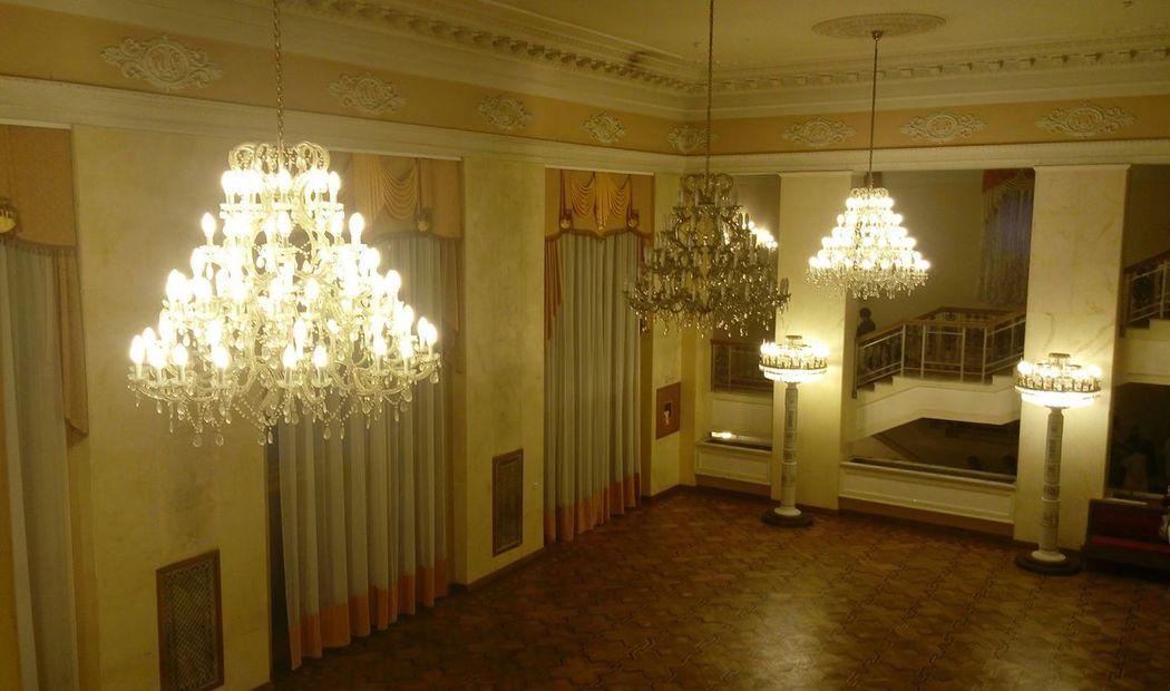Rivne, Ukraine Theater Enjoying The Music Being Cultured
