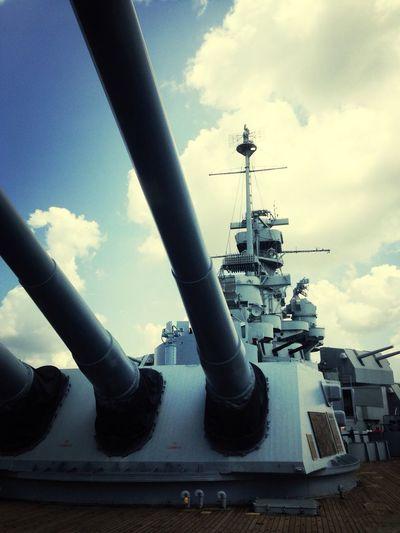 uss Alabama Hello World Ship Navy Battleship Mobile Alabama