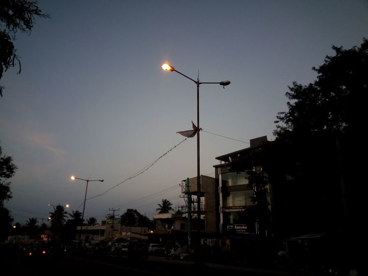 Street Night Lights
