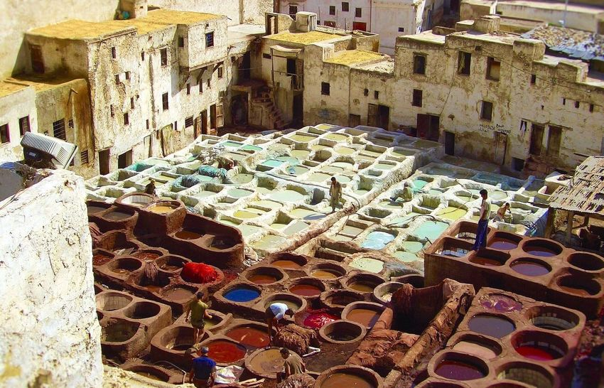 Showcase April Faxes Of A City The Adventure Marocco Begins Marocco Nordafrika The Pungent Stellung Färbergasse Citylife