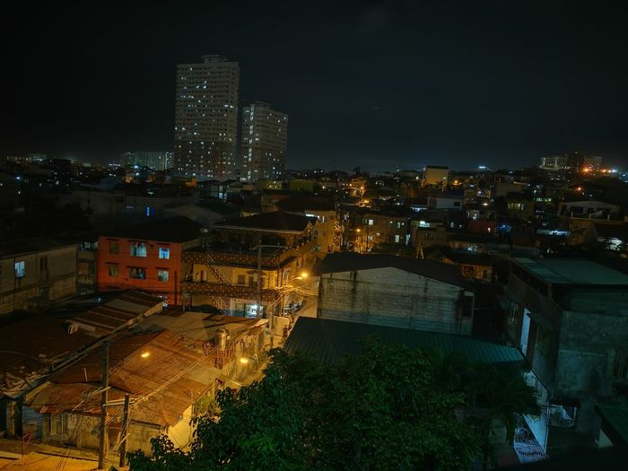 Night Illuminated Architecture City Building Exterior City Life Outdoors Sky Nightlife Built Structure No People Residential Area Residential Buildings Residential
