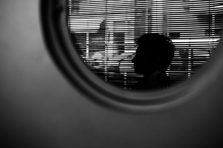 Indoors  One Person People Day Human Head Blancoynegro Black And White Argentina Blanco Y Negro Luz Indoors  Real People Long Goodbye The Secret Spaces Break The Mold