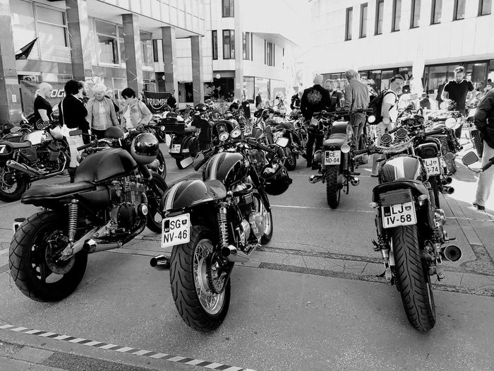 Bikes in Laibach Bikes