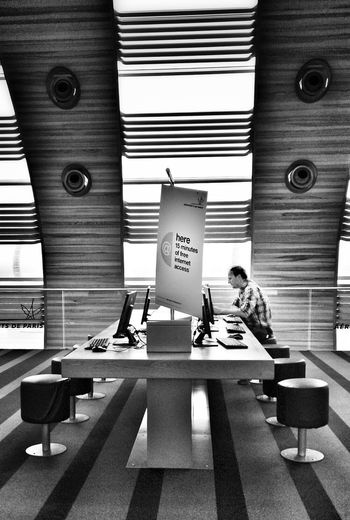 In The Terminal CDG Paris Cdg Airport Internet Computers Travel Travel Photography Waiting Light And Shadow