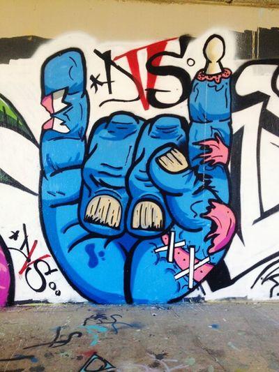 Street Art Taking Photos Hanging Out
