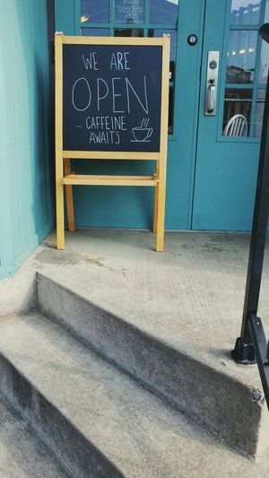 Building Exterior Text Day Outdoors Sign Chalkboard Coffee Coffee Shop Caffeine Columbus, Ohio Local Business Coffee Cup Drawing