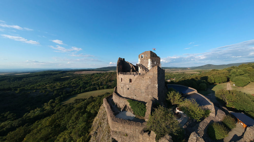 EyeEmNewHere Aerial View Drone  Medieval Castle Crispy Outdoors No People Landscape Day Scenics Nature Sky Mountain
