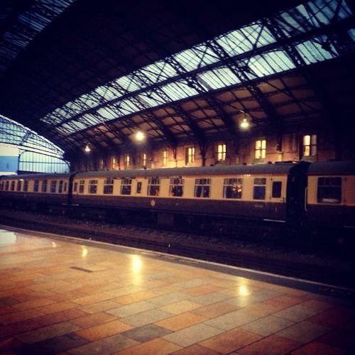 British Rail Carriages  Train Steam Special Bristol