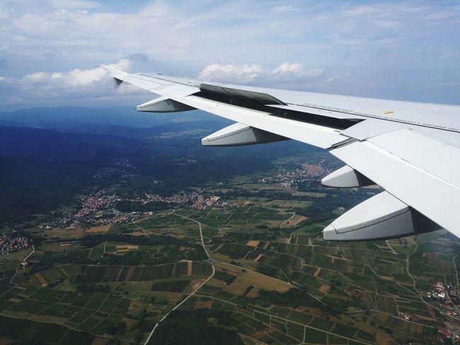 Airfrance Plane Avion France🇫🇷 Strasbourg Atterrissage Sky Ciel Flying Nature