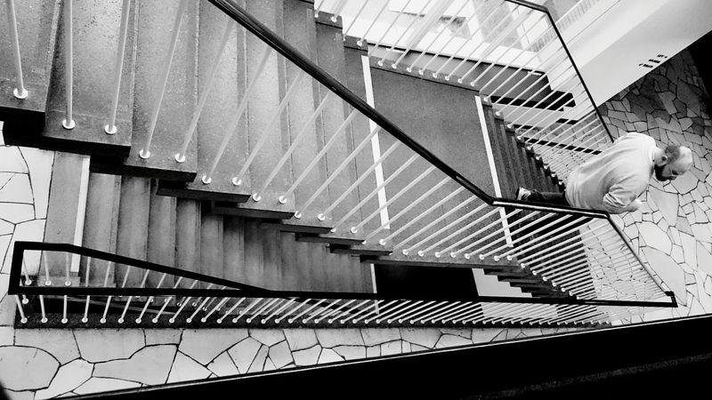 Stairs Stairways Blackandwhite Looking Down Lines Stairs_collection Week On Eyeem
