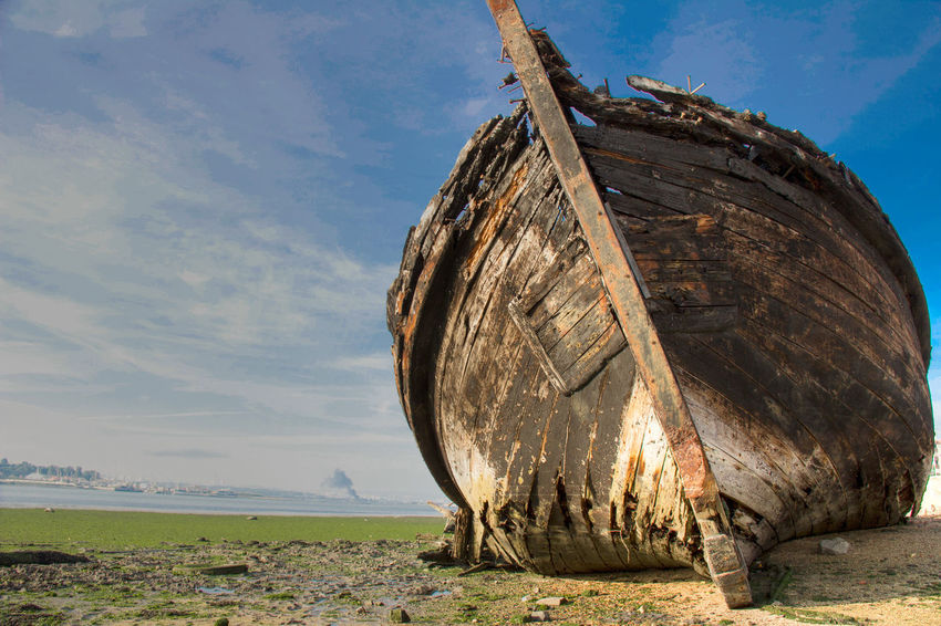 Boat Oldboat Ship Shipwreck Beach Impact HDpicture Hd Photo Amazing View Beautiful Nature Feel The Journey Portugal