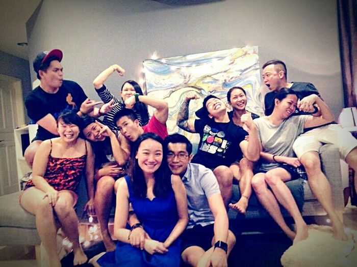 Love Is In The Air Malaysia Gym Buddies