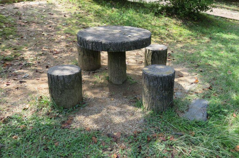 Park 公園 自然 いす 机