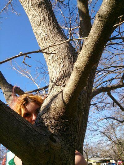 Tree Hugger Austin,tx Atxkids Portrait Of A Friend Peeking Out From Behind A Tree Peeking Hiding Behind A Tree Hide And Seek Hiding COY