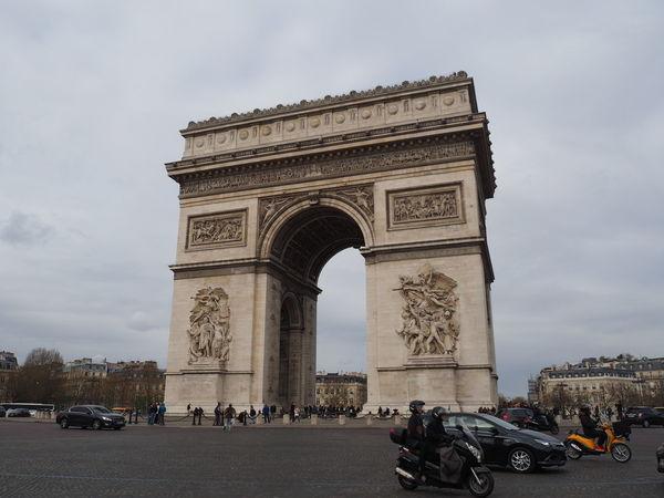 Arc De Triomphe Arc De Triomphe De L'Étoile France Paris Paris, France  Sight Seeing Sightseeing Travel Travel Destinations Travel Photography