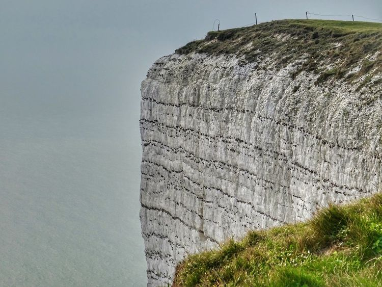 Don't look down...... High Cliff Nature Day Tranquility Outdoors Beauty In Nature Tranquil Scene Scenics Cliff