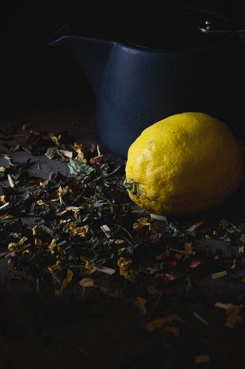 Tea leaves, tea