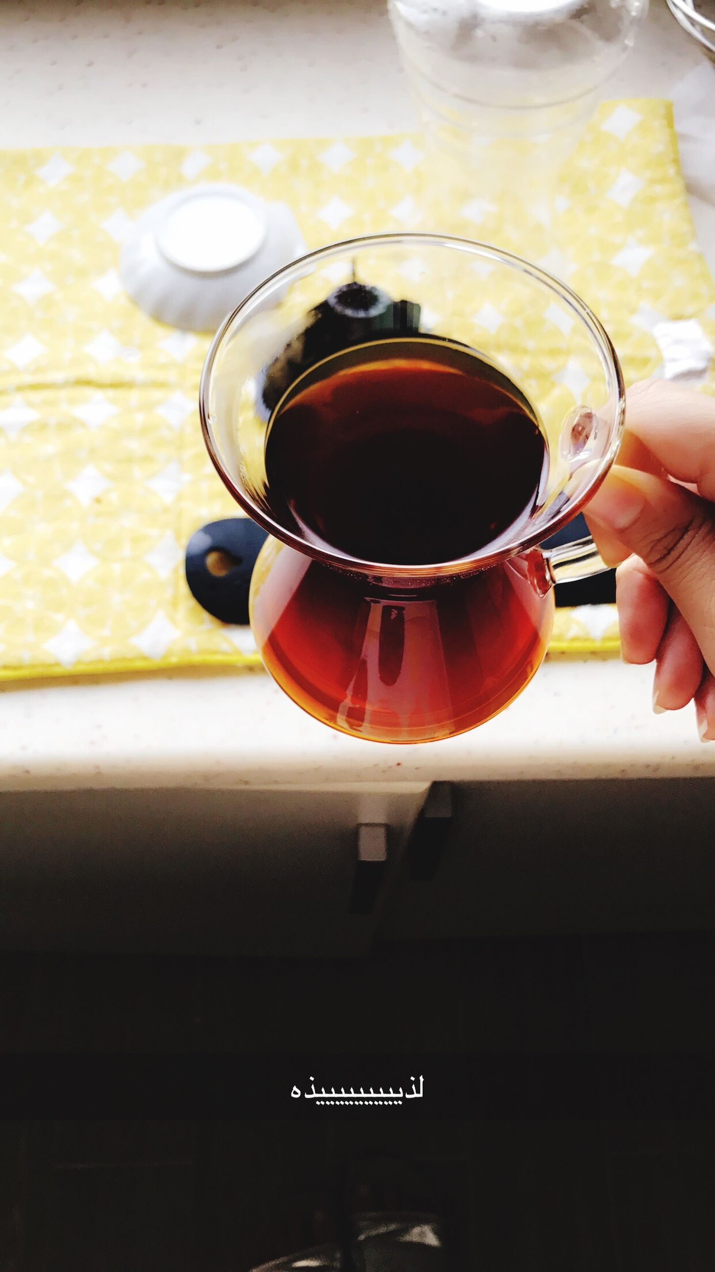 drink, refreshment, food and drink, human hand, human body part, red, close-up, indoors, tea - hot drink, freshness, day, one person, people