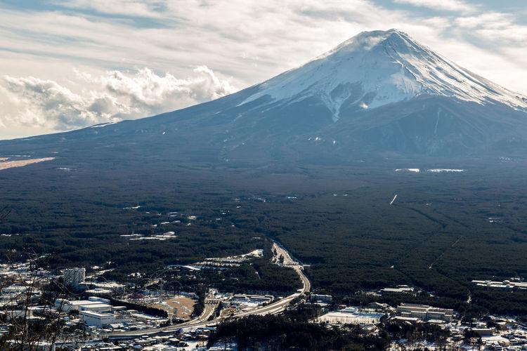 Mount Fuji at