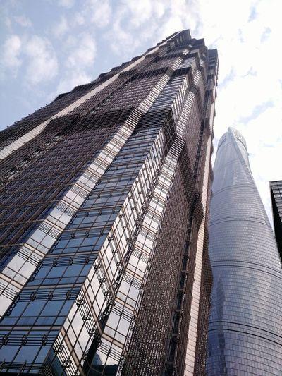 上海の第三番高いビル。全て88階。 高楼 建筑 上海 陆家嘴 观光 Building Architecture Skyscraper Superscraper City Scapes 45 secs to the top!