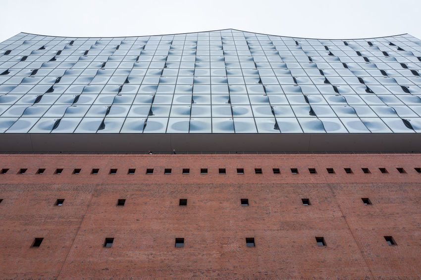 Hamburg Elbphilharmonie Architecture Building Building Exterior Built Structure City Clear Sky Day Elbphilharmonie In A Row Low Angle View Nature No People Office Office Building Exterior Outdoors Pattern Repetition Sky Skyscraper Tall - High Window