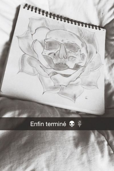 My draw ? Drawing Tattoo Flowers Beautiful