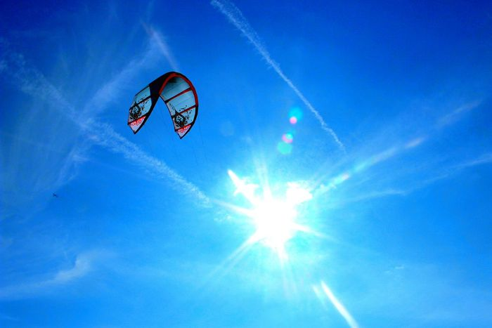 The Essence Of Summer Hello World Kitesurfing On The Beach Canon EOS 600D DSLR Summer Time