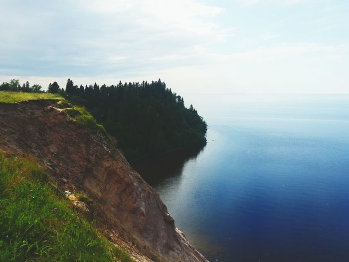 Onegalake LakeOnega Lake View Russia Landscape