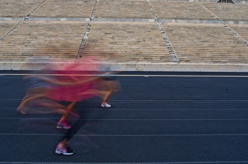 Running ghosts
