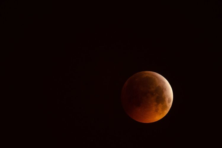 Space Moon Astronomy Sky Night Beauty In Nature Copy Space Natural Phenomenon Tranquil Scene Orange Color Moon Surface Clear Sky Majestic Tranquility No People Planetary Moon Scenics - Nature Full Moon Nature Shape