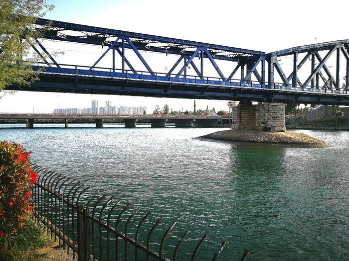 Bridge - Man Made Structure No People Bridge Over The River Colours Water Adana Turkey ✔✅💠 First Eyeem Photo EyeEm Best Shots - Nature EyeEm Gallery EyeEm Eyemphotography