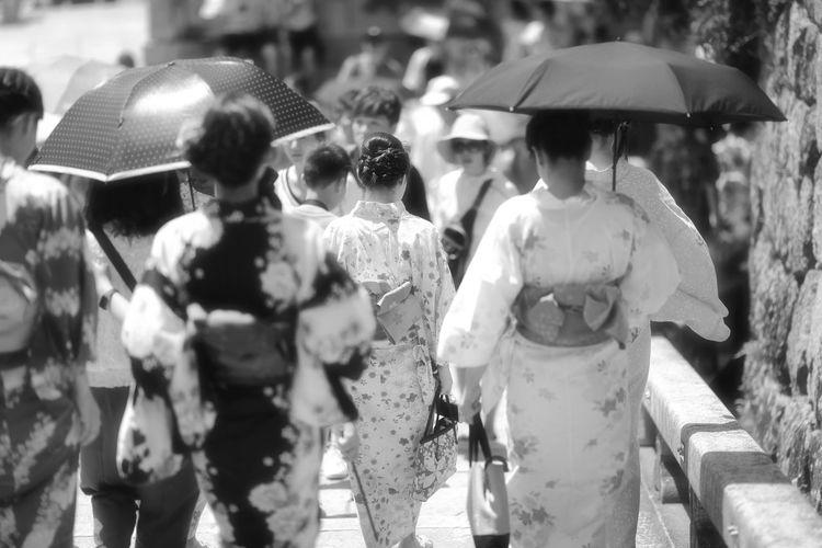 ゆかた Casual Clothing Collection Focus On Foreground In A Row Japan Japan Photography Japanese Culture Japanese Style Kyoto Person Rear View Retail  Retail Display Selective Focus Variation ゆかた