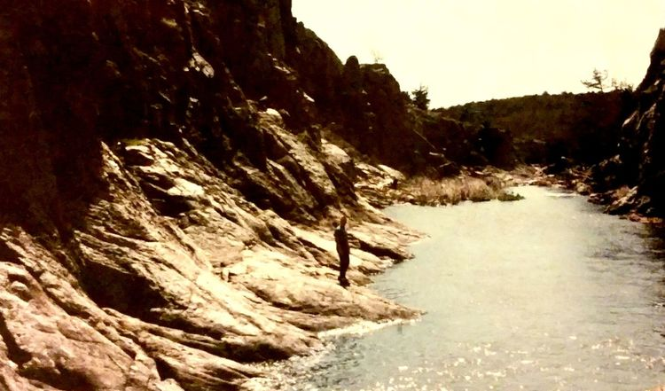 35mm Film Beauty In Nature Canyons Cliff Nature Nature Photography Nature Walk Non-urban Scene Oklahoma Outdoors River Rock - Object Rock Formation Scenics Water 1985 EyeEm Nature Lover Long Goodbye