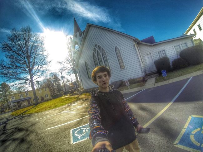 ?➕ Church Gopro Hero3black Gopole Neff Skatetrip