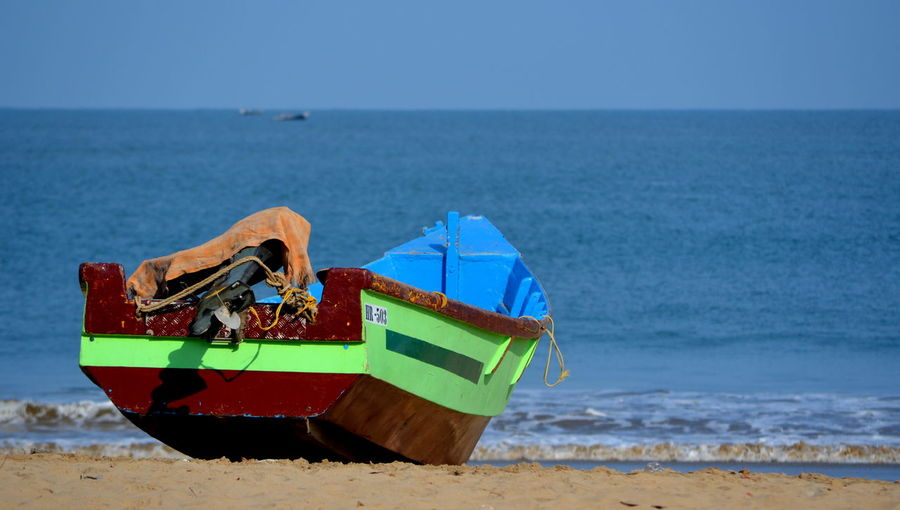Beach Boat Sea