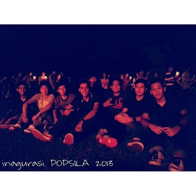 Malam inagurasi POPSILA2013 Loyola  Popsila Friends