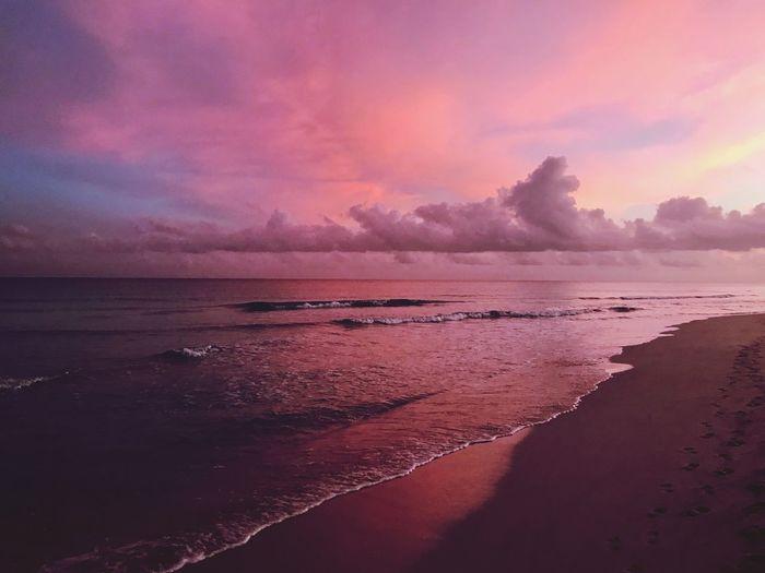 Sea Water Beach Sky Beauty In Nature Land Scenics - Nature