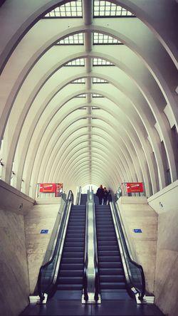 Escalator Liège-guillemins Architecture Beautiful