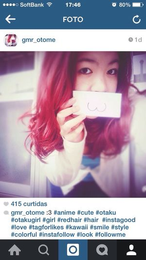 415! Omg Like Love Instagram Happy Anime Girl Otaku Otome Gamer